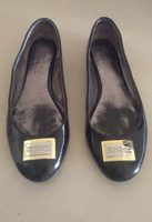 Used DKNY leather ballerinas in Dubai, UAE