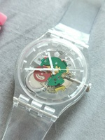 Used SWATCH TRANSPARENT LIKE NEW AND BANDS in Dubai, UAE