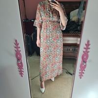 Used Floral ankle length mid sleeves dress in Dubai, UAE