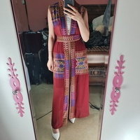 Used Knitted open cardigan with belt in Dubai, UAE