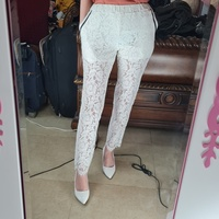 Used white trousers with Inner shorts in Dubai, UAE