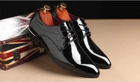 Used Brand new shiny pointed oxford shoes 42 in Dubai, UAE