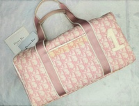 Used Authentic DIOR Pink#1 Trotter Boston Bag in Dubai, UAE
