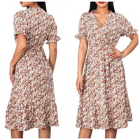 Used Brand new chiffon floral dress size S in Dubai, UAE