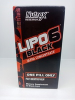 Used Lipo6 black ultra concentrate 60caps in Dubai, UAE