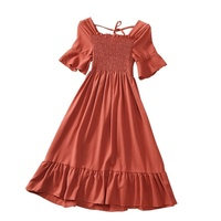 Used Brand new red ladies dress size M to L in Dubai, UAE