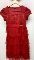 Used Red party dress for kids in Dubai, UAE