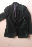 Used Men's classic green velour jacket in Dubai, UAE
