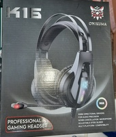 Used ONIKUMA K16 Gaming Headsets wired in Dubai, UAE