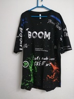 Used Boom let's make some Great Art T-shirt in Dubai, UAE