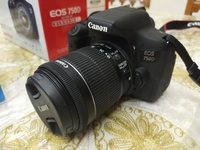 Used CANON EOS 750D + BOYA Mic in Dubai, UAE