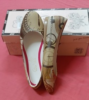 Used Made in turkey, flat shoes in 36 size ! in Dubai, UAE