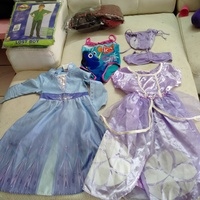 Used Costumes for 3-4 yrs bundle 💜 in Dubai, UAE