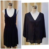 Used Brand new H&M top and dress (M) in Dubai, UAE