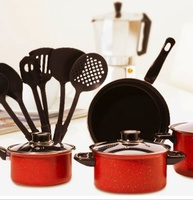 Used Cookware 13 pieces nonstick cookware set in Dubai, UAE