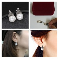 Used Jewellery Earrings Round Point NEW in Dubai, UAE