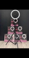 Used RING LIGHT FREE TRIPOD NEW🎊💯 in Dubai, UAE