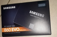 Used Samsung 860 EVO 500GB 2.5 Inch SATA III in Dubai, UAE