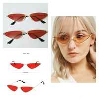 Used Retro Metal Vintage Sunglasses 2 Pcs in Dubai, UAE