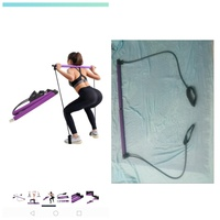 Used New Yoga resistance band Pilates stick. in Dubai, UAE