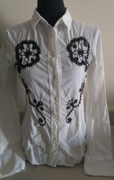 Used Italian shirt with embroidery in Dubai, UAE