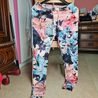 Used Adidas floral sporty pants in Dubai, UAE