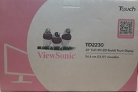 Used viewsonic 22inch Full HDD Touch Display in Dubai, UAE