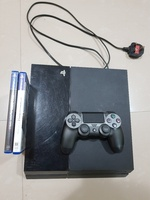 Used PS4 500 GB + 1 Controller + 2 Games in Dubai, UAE