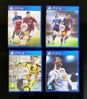 Used Fifa collection for PS4  4pc in Dubai, UAE