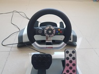 Used Xbox 360 wireless Driving wheel in Dubai, UAE