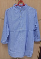 Used Kurta type shirt for him in light purple in Dubai, UAE