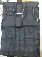 Used ADJUSTABLE WEIGHTED VEST BLACK in Dubai, UAE