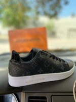 Used LV sneaker new box size 38 in Dubai, UAE