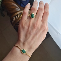 Used BOUSHERON 18ct gold ring + bracelet set in Dubai, UAE