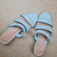 Used MAX baby blue flats eur38 in Dubai, UAE