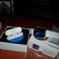 Used BUNDLE SMART WATCH AND AIRPODS ELE1 in Dubai, UAE