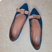 Used F.angelo blue color flats eur38 in Dubai, UAE