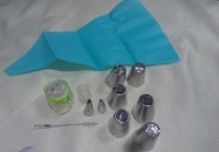 Used Cake decoration tip set in Dubai, UAE