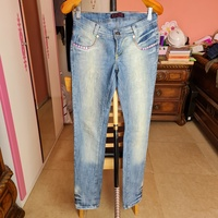 Used LASS jeans ladies size small in Dubai, UAE