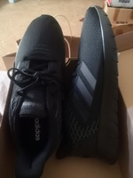 Used Original Adidas All Black shoes. 44.5 in Dubai, UAE