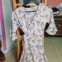 Used Wrap around dress S/M size in Dubai, UAE