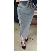 Used Long bodycone skirt with zipper in Dubai, UAE