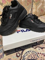 Used Fila sneaker new box size 38 in Dubai, UAE