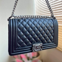 Used Chanel le boy shoulder bag (new) in Dubai, UAE