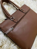 Used Mexican leather laptop bag in Dubai, UAE