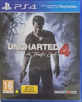 Used Unchartered 4: A Thief's End (PS4) in Dubai, UAE
