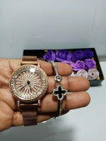 Used Lady's classic watch and bracelet in Dubai, UAE