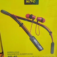 Used 2 PCS Nippo  Magnetic Earphones NP-40 in Dubai, UAE