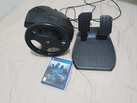 Used Ps4 steering wheel, paddles, and nfs in Dubai, UAE