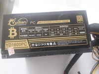 Used 1600w mining power supply  used in Dubai, UAE